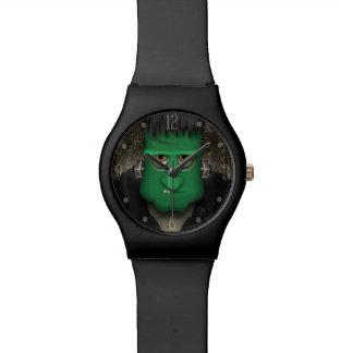 Traje divertido de Frankenstein Halloween Reloj De Mano