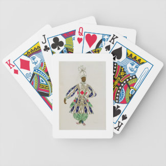 "Traje para un ""negro"", de Aladdin, 1916 (color Baraja Cartas De Poker"