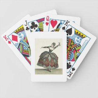 """Traje para una furia en """"Iphigenia en Tauris"""" y el Baraja Cartas De Poker"""