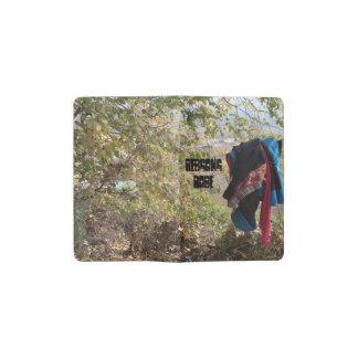 Traje tibetano de las señoras de Amdo en una cerca Cuaderno De Bolsillo Moleskine