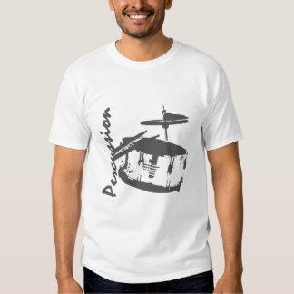 Trampa de la percusión camisetas