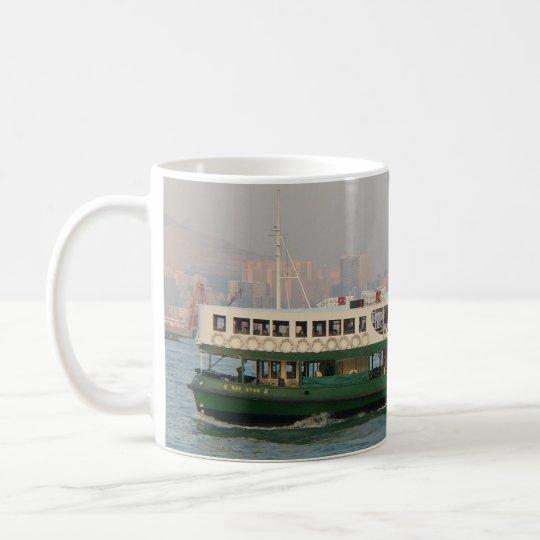 Transbordador de la estrella taza de café