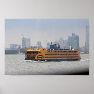 Transbordador de Staten Island Póster