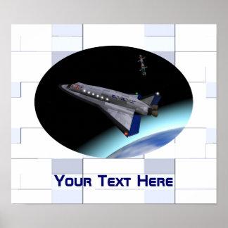 Transbordador espacial de El Al Maslool Poster