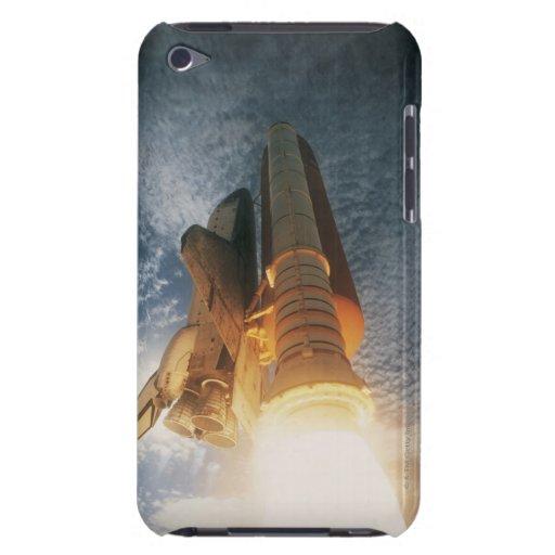 Transbordador espacial de lanzamiento barely there iPod cárcasas