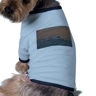 Transbordador que entra en Dover Camisa De Mascota