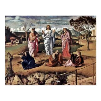 Transfiguración de Cristo 1487 Postal