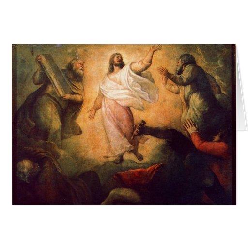 Transfiguración de nuestro señor Jesús Cristo-Comp Tarjeta
