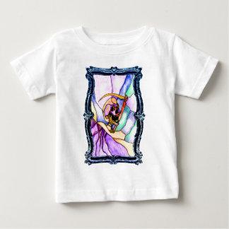 Transformación de mármol camiseta para bebé