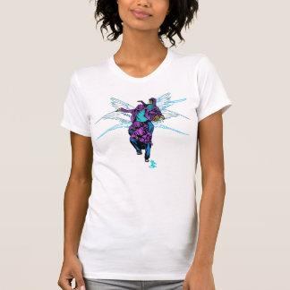 Transformación del ángel camisetas