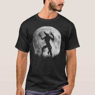 Transformación fresca de la Luna Llena del hombre Camiseta