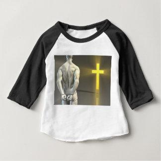 Transformación religiosa al cristianismo camiseta de bebé