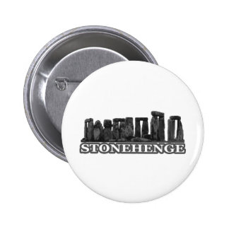 Transp negro de Stonehenge los regalos de Zazzle d Chapa Redonda De 5 Cm