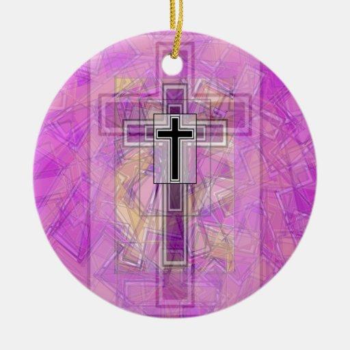Transparencia religiosa ornamento de reyes magos