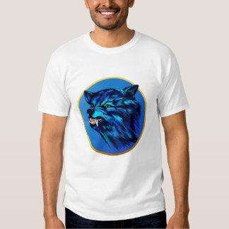 Transporte del marco del círculo del gruñido camiseta