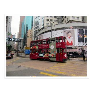 tranvía de Hong-Kong Postales