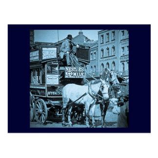 Tranvía de la calle de reyes Cross Londres de la Postal