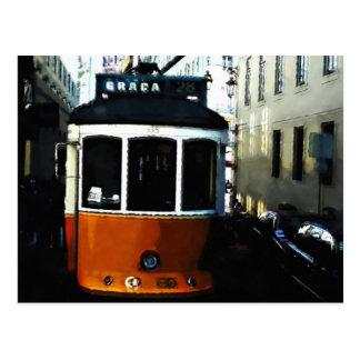Tranvía de Lisboa Postales