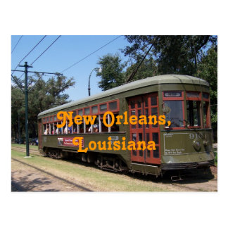 Tranvía de New Orleans, Luisiana Postales