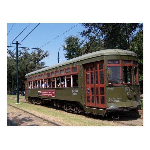 Tranvía de New Orleans, Luisiana Postal