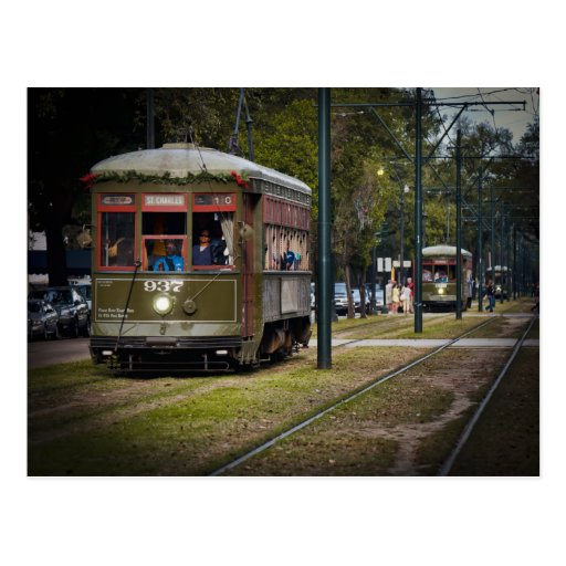 Tranvía de NOLA Tarjeta Postal