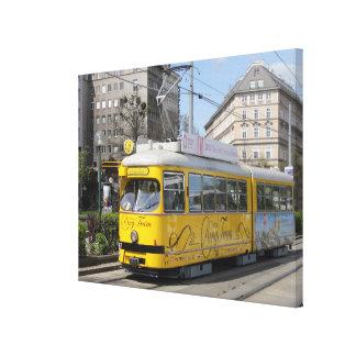 Tranvía del anillo de Viena Impresión En Lienzo