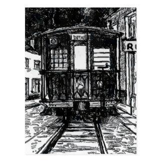Tranvía del deseo del barrio francés postal