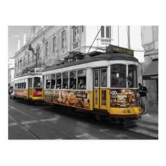 Tranvía el 28% el pipe% Electrico 28 Lisboa de Postales