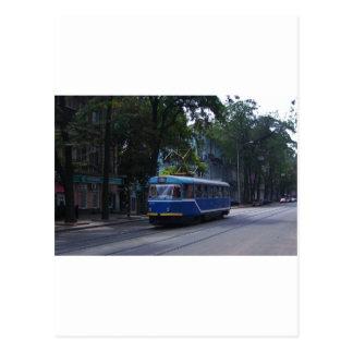 Tranvía en la Ucrania Postal