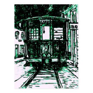Tranvía en New Orleans Postal
