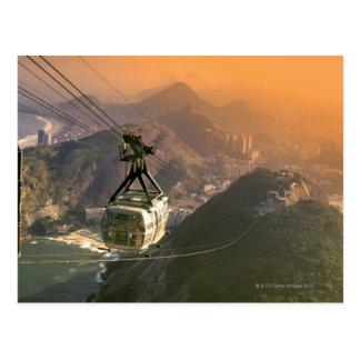 Tranvía en Río de Janeiro, el Brasil Postal