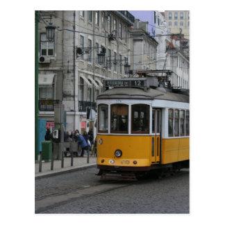 Tranvía Portugal Tranvias de Lisboa de Lisboa Postal