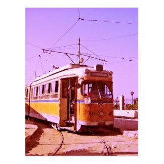 tranvía tarjetas postales