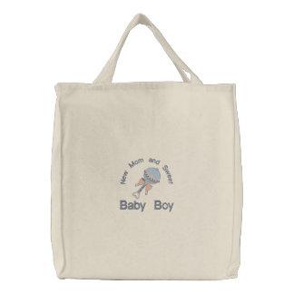 Traqueteo del bebé - azul bolsas
