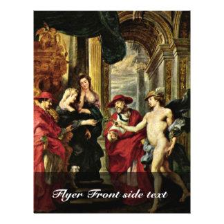 "Tratado de Angoã Leme ""por Rubens Peter Paul Folleto 21,6 X 28 Cm"
