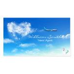 Travel Agent Plantilla De Tarjeta De Visita