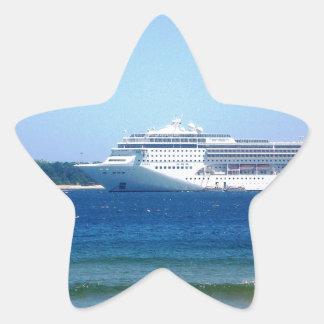 Travesía de Punta del Este Pegatina En Forma De Estrella