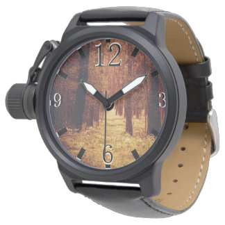 Trayectoria de bosque… reloj de pulsera