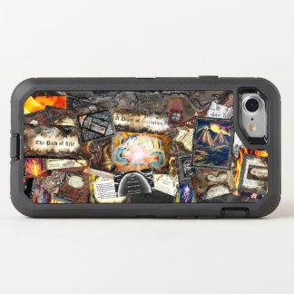 Trayectoria del collage de la vida funda OtterBox defender para iPhone 8/7