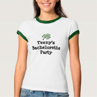 trébol, bachelorette camiseta