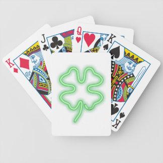 Trébol Baraja Cartas De Poker
