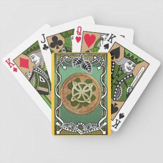 trébol de la naturaleza del grainne barajas de cartas