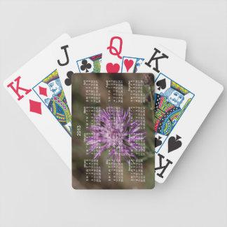 Trébol de punta Calendario 2013 Baraja Cartas De Poker