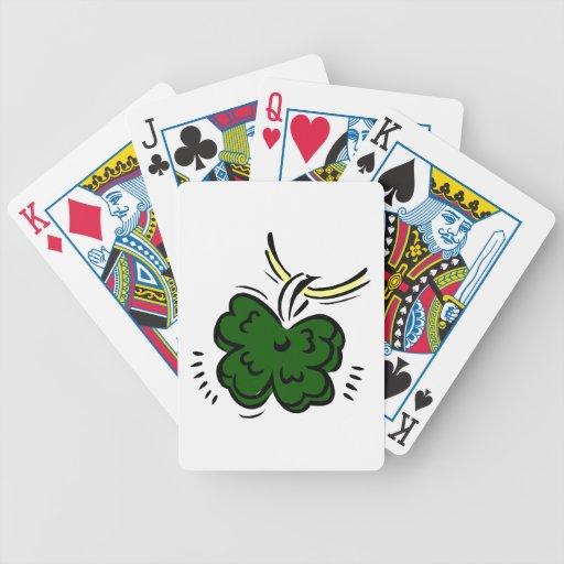 trébol graphic.png afortunado pendiente de cuatro  baraja cartas de poker