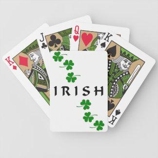 Trébol IRLANDÉS Cartas De Juego