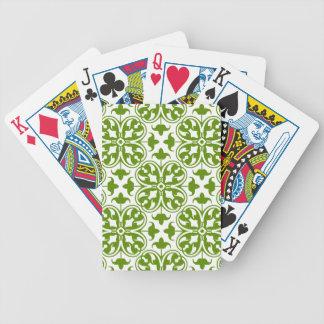 Trébol irlandés baraja de cartas