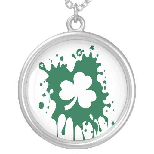 ¡Trébol irlandés Splat! Grimpolas Personalizadas