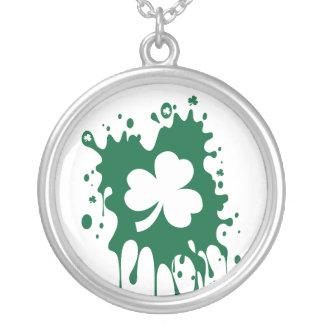 ¡Trébol irlandés Splat Grimpolas Personalizadas
