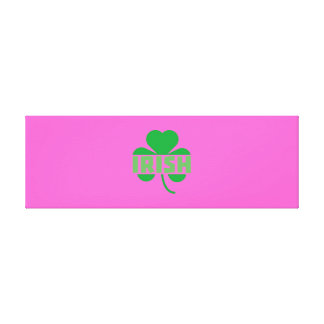 Trébol irlandés Z9t2d del cloverleaf Lienzo