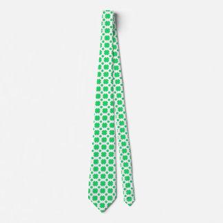 Trébol modelado corbatas